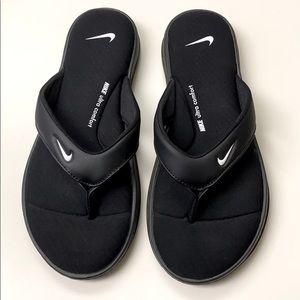 New Nike ultra comfort flip flop sandals
